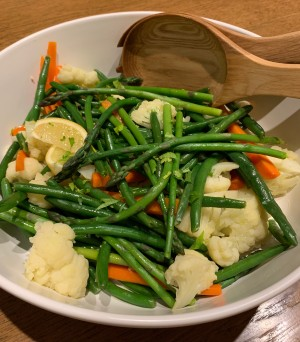 Steamed Vegetable Platter
